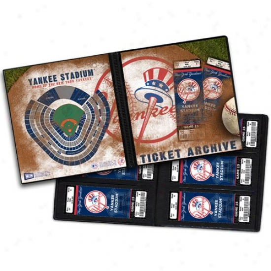 New York Yqnkees Ticket Archive Book