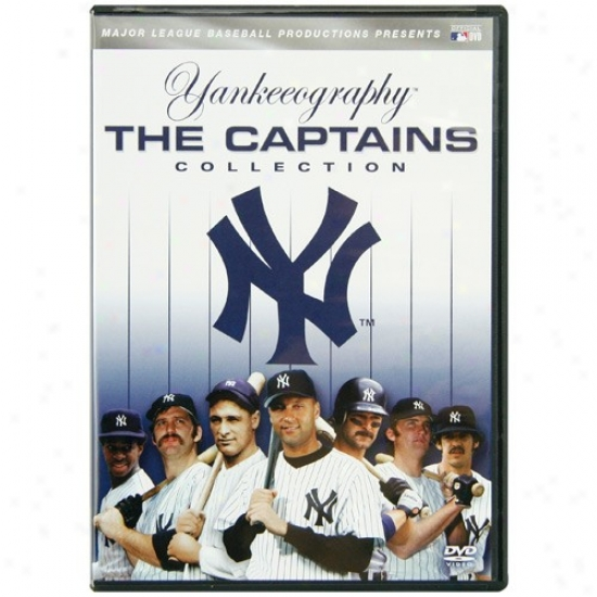 New York Yankees Yankeeography: The Captains Collection 2-disc Dvd Set