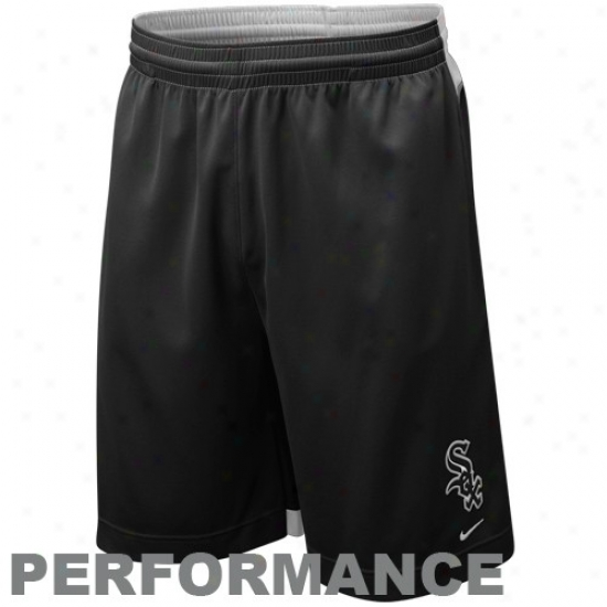 Nike Chicago White Sox Black Nike Fit Performance Instruction Shorts