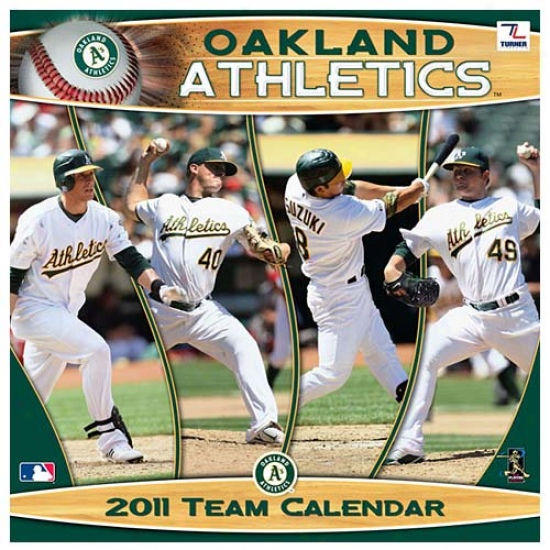 Oakland Athletics 2011 Wall Calendar