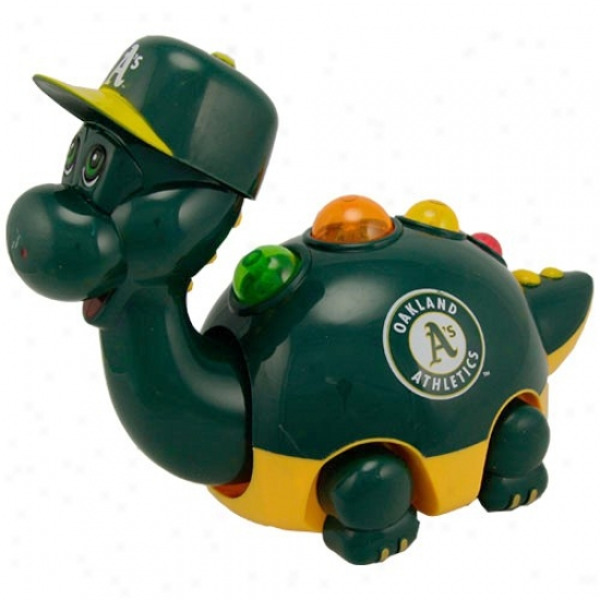 Oakland Athletics Green Musical Team Dino Toy