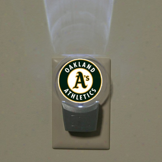 Oakland Athletics Led Night Light