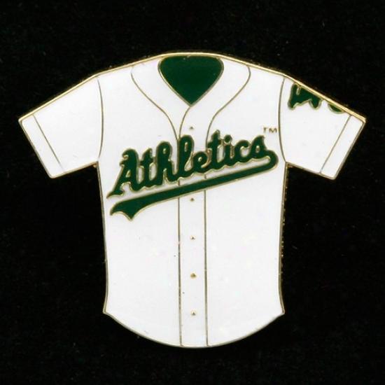 Oakladn Athletics Merchandise: Oakland Athletics Team Jersey Pin