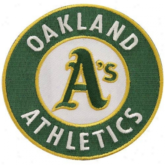Oakland Athletics Primary Logo Embroidered Collector Patch