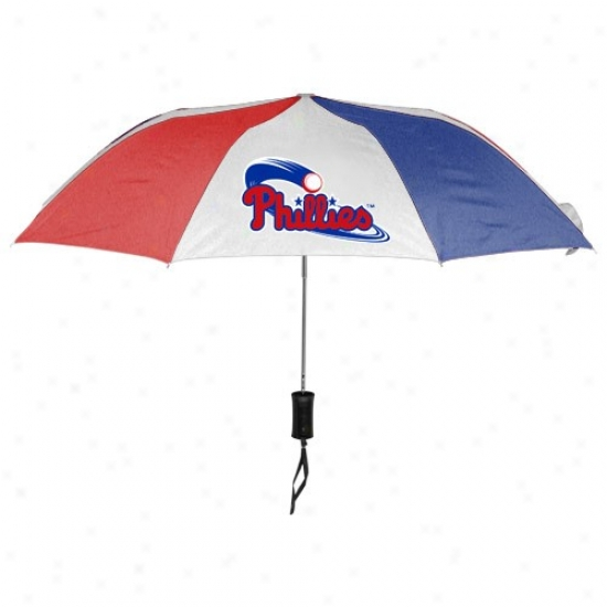 Philadelphia Phillies 68'' Folding Umbrella