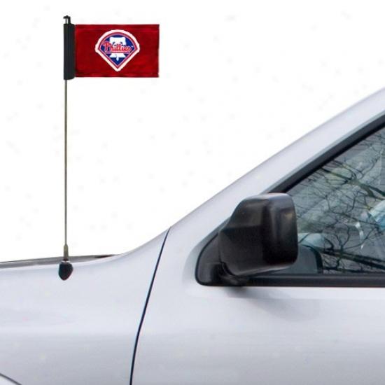 Philadelphia Philliez Banners : Philadelphia Phillies Red Logo Antenna Banners
