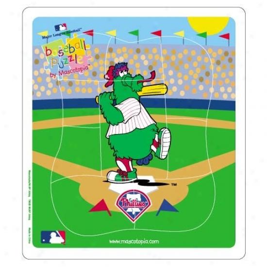 Philadelphia Phillies Baseball Puzzle