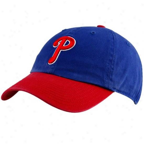 Philadelphia Phillies Caps : Twins '47 Philadelphia Phillies Royal Blue-red Franchise Fitted Caps