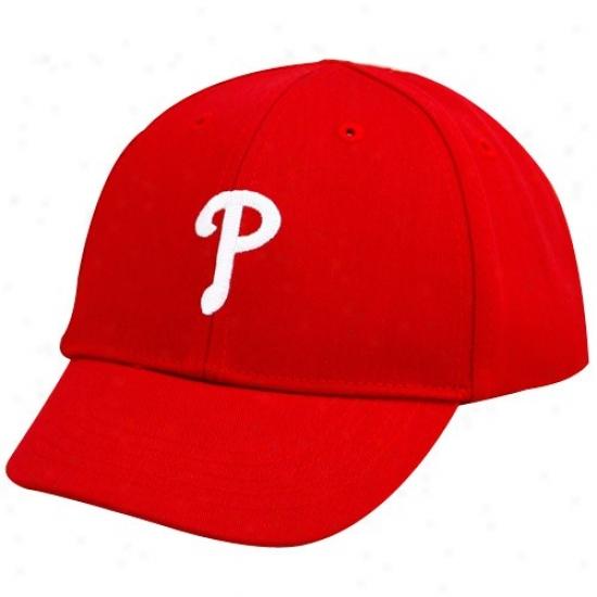 Philadelphia Phillies Capa : Twins '47 Philadelphia Phillies Toddler Red Basic Team Logo Adjustable Caps