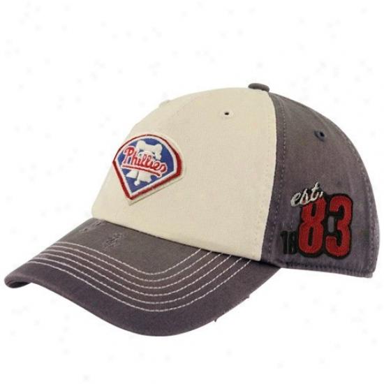 Philadelphia Phillies Gear: Twins Enterprise Philadelphi aPhillies Essential Franchise Rough Seam Fitted Hat