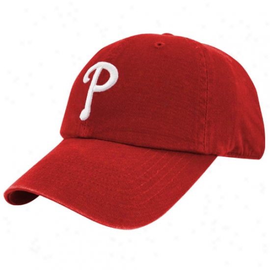 Philadelphia Pnillies Hat : Philadelphia Phillies Red Franchise Fitted Cardinal's office
