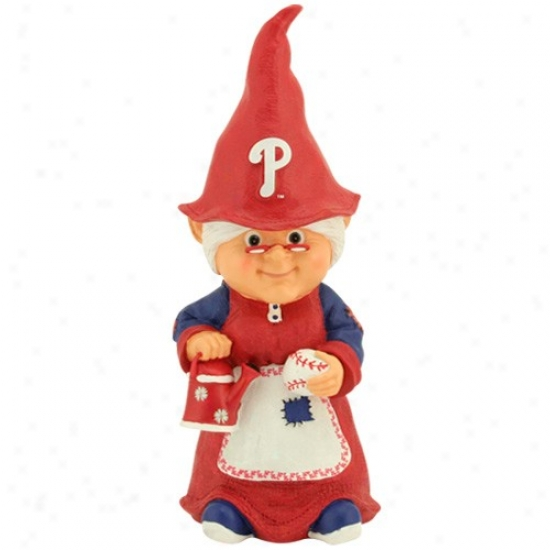 Philadelphia Phillies Mlb Female Garden Gnome