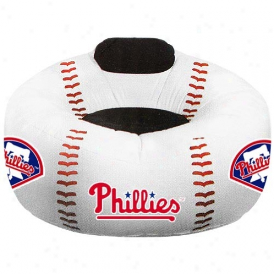 Philadelphia Philliex Oversized Inflatable Baseball Chair