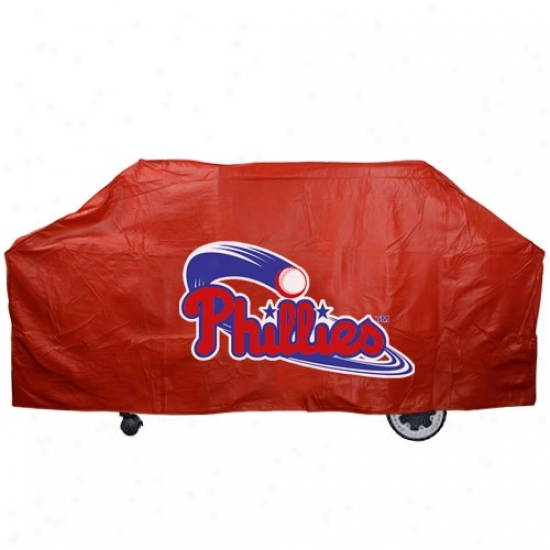 Philadelphia Phillies Red Grill Cover