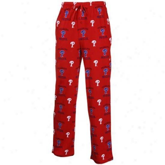Philadelphia Phillies Red Maverick Pajama Pants