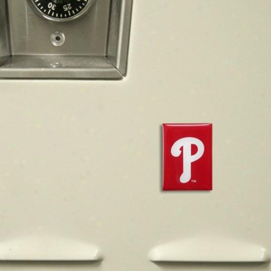 Philadelphia Phillies Red Team Logo Magnet