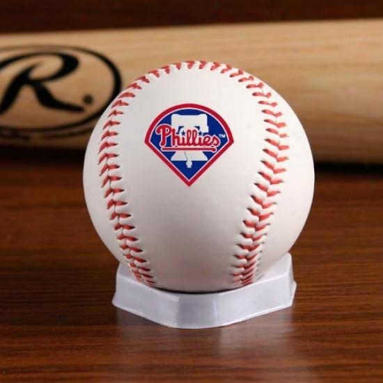 Philadelphia Phillies ''the Original'' Team Logo Collecttible Baseball