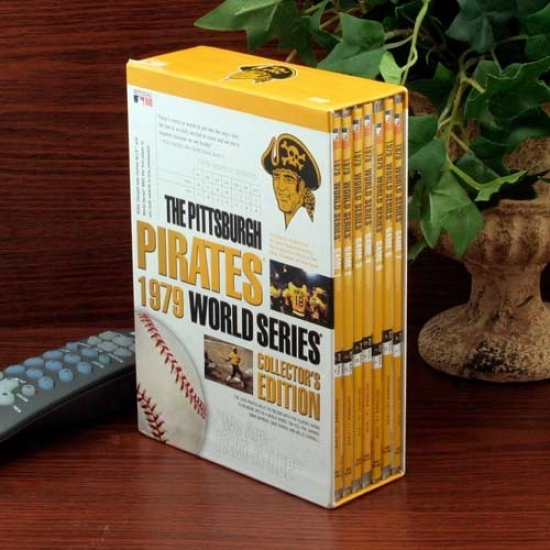 Pittsburgh Pirates 1979 World Series Collectoe's Edition 7-disc Dvd Set