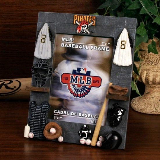 Pittsburgh Pirates 5'' X 7'' Locker Room Picture Frame