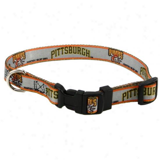Pittsburgh Pirates Adjustable Dog Coollar