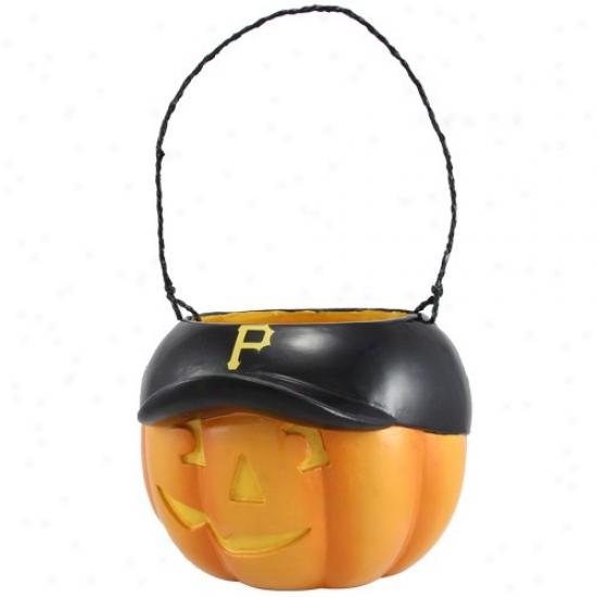 Pittsburgh Pirates Halloween Pumpkin Bucket