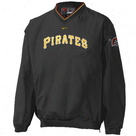 Pittsburgh Pirates Jacket : Nike Pittsburgh Pirates Murky Staff Ave Windshjrt
