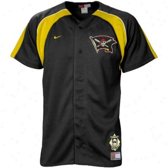 Pitteburgg Pirates Jerseys : Nike Pittsburgh Pirates Youth Black Home Plate Jerseys