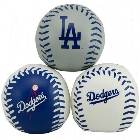 Rawlings L.a. Dodgers Softee 3 Baseball Set