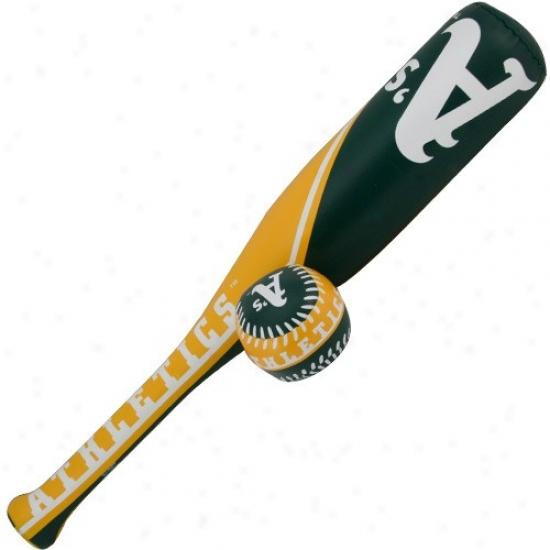 Rawlings Oakland Athletics Softee Bat & Missile  Set