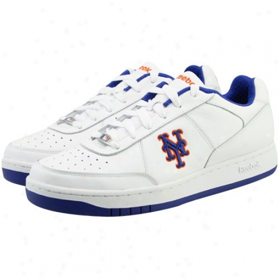 Reebok New York Mets White Clubhouse Exclusive Sneaker