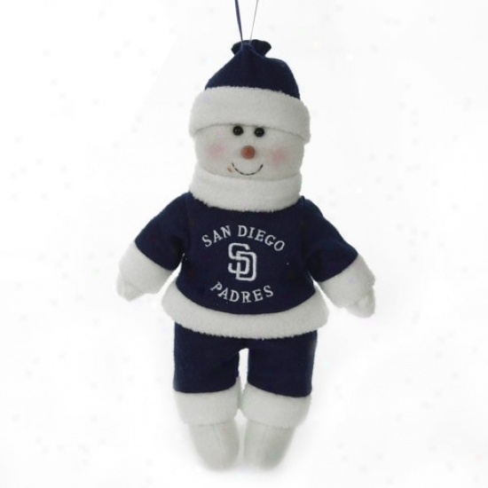 San Diego Padres 10-inch Snowflake Friend Plush