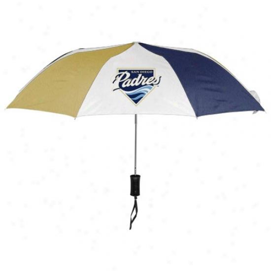 San Diego Padres 42'' Folding Umbrella