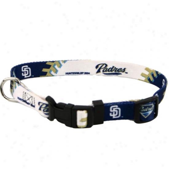 San Diego Padres Adjustable Dog Collar