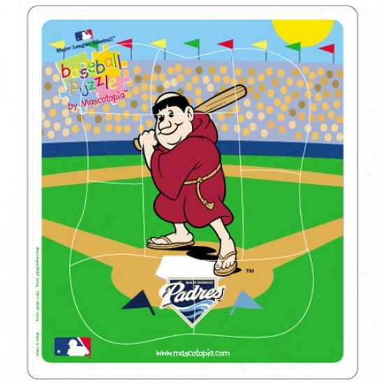 San Diego Padres Baseball Puzzle