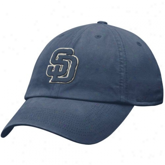 San Diego Padres Gear: Nike San Dego Padres Navy Blue Relaxed Fit Hat