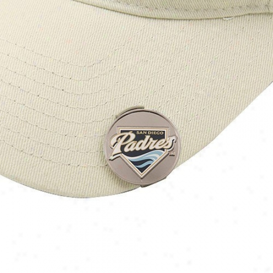 San Diego Padres Golfer's Hat Clip & Ball Markers
