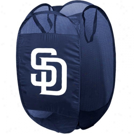 San Diego Padres Navy Blue Pop-up Sport Hamper