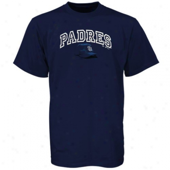 San Diego Padres Shirts : Majestic San Diego Padres Navy Blue Youth Takin Charge