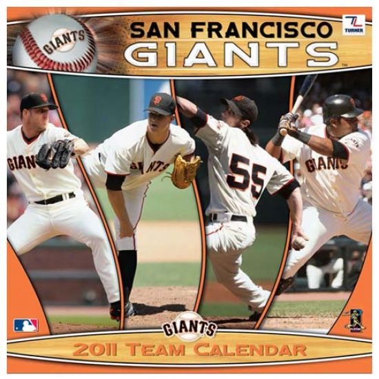 San Francisco Giants 2011 Wall Calendar