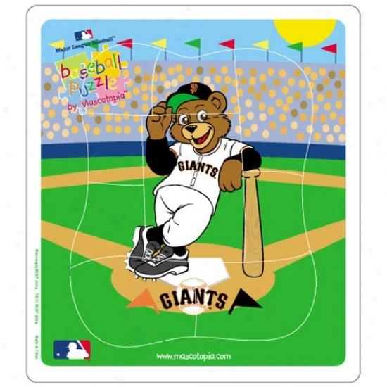 San Francisco Giants Baseball Puzzle