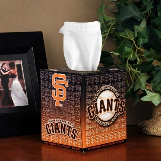 San Francisco Giants Box Of Sports Tissues