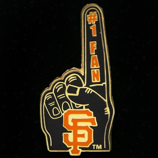 San Francisco Giants Caps : San Franciwco Giants #1 Fan Pin
