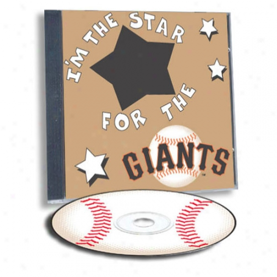 San Francisco Giants Game Hero Custom Sports Cd