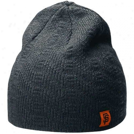 San Francisco Giants Hat : Nike San Francisco Giants Ladies Navy Blue Knit Beanie