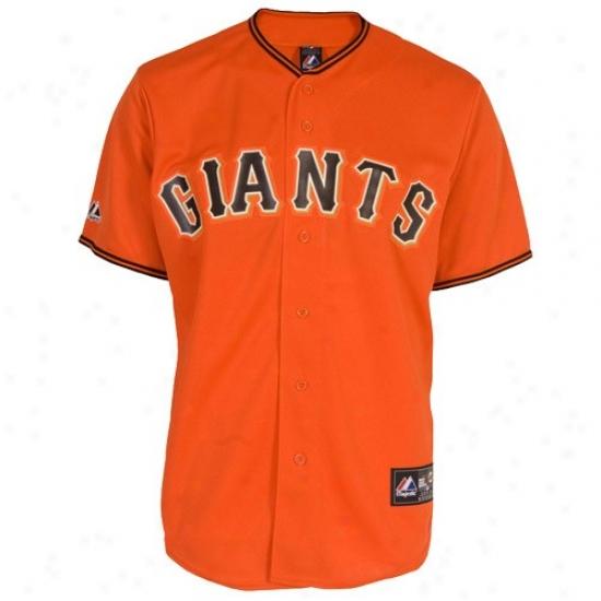 San Francisco Giants Jersey : Majestic San Francisco Giants Youth Replica Jersey-orange