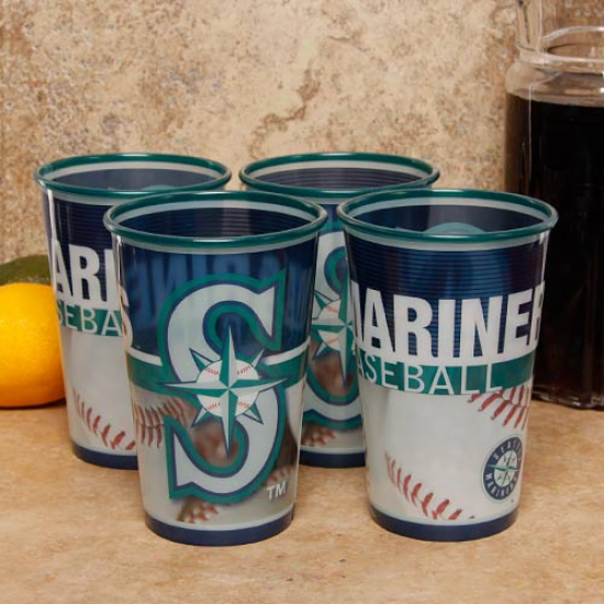 Seattle Mariners 4-pack 22oz. Souvenir Cups