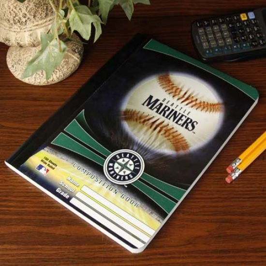 Seattle Mariners Composition Notebook