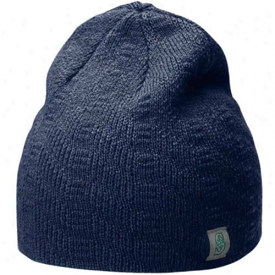 Seattle Mariners Hats : Nike Seattle Mariners Ladies Navy Blue Join Beanie
