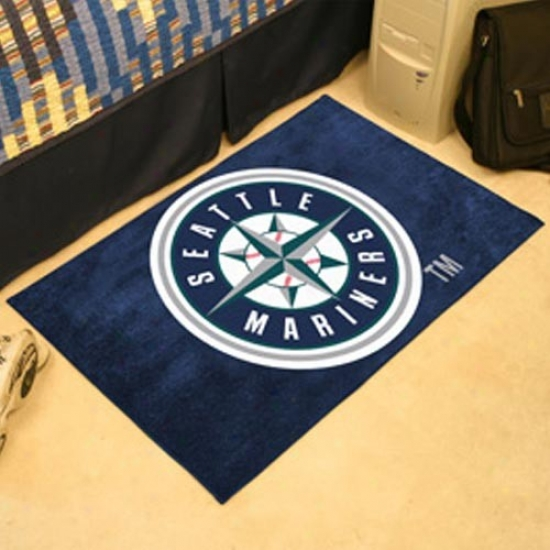 Seattle Mariners Navy Blue Logo Starter Mat