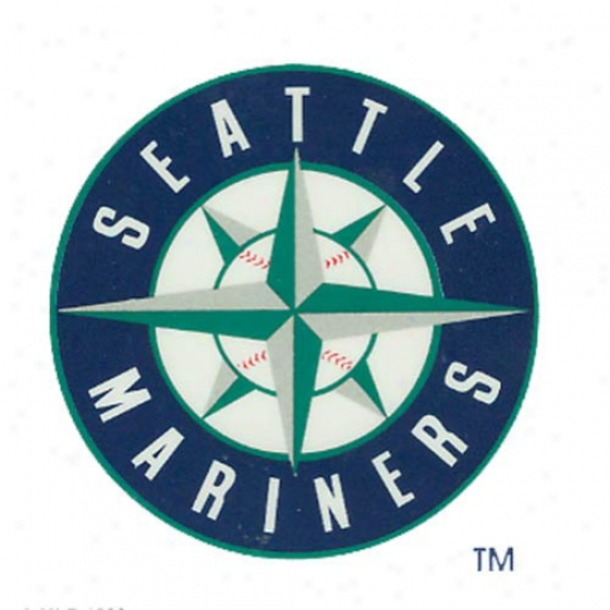 Seattle Mariners Small Window Cling
